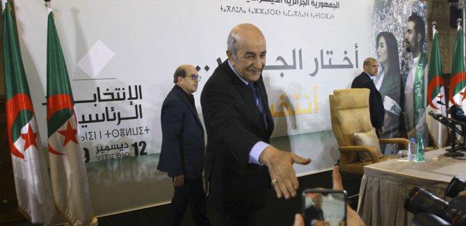 Cezayir'de cumhurbaşkanlığı seçimleri sonuçlandı