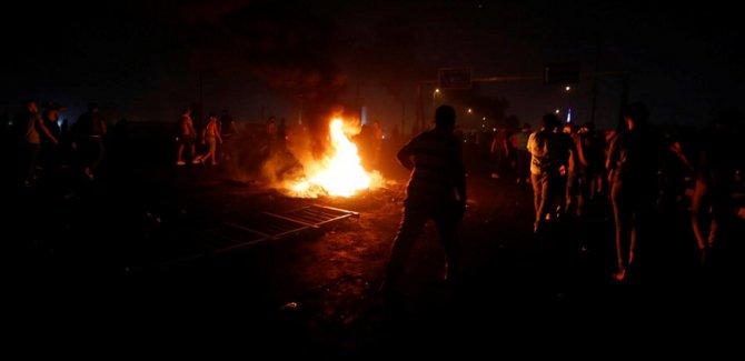 Irak'ta parti binaları ateşe verildi!