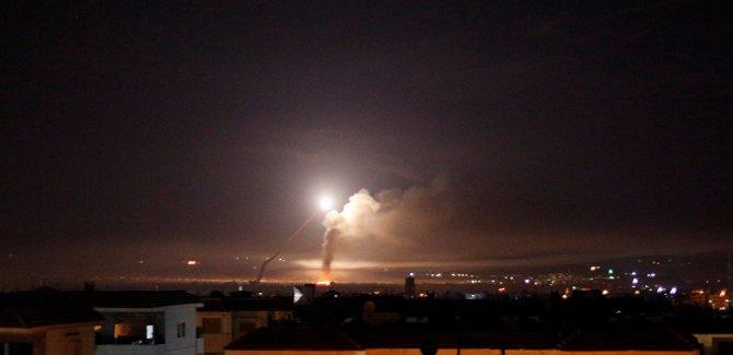 İşgalci İsrail'den Şam'a füze saldırısı