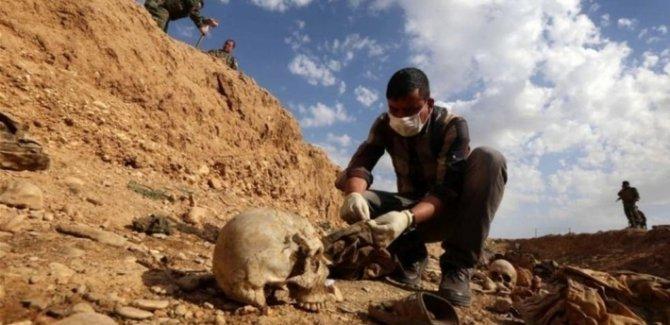 Irak genelinde 18 toplu mezar bulundu