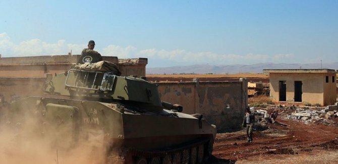 Esad rejimi 4 günde 35 yerleşim yerini ele geçirdi