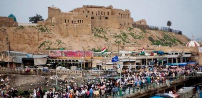 Kerkük'te Irak askeri güçlerinden Kürt semtlerine baskın