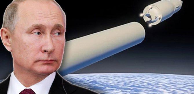Putin: Yeni geliştirdiğimiz füzeyle dünyada istediğimiz yeri vurabiliriz