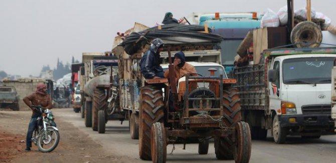 BM: İdlib'de 235 binden fazla insan yerinden oldu