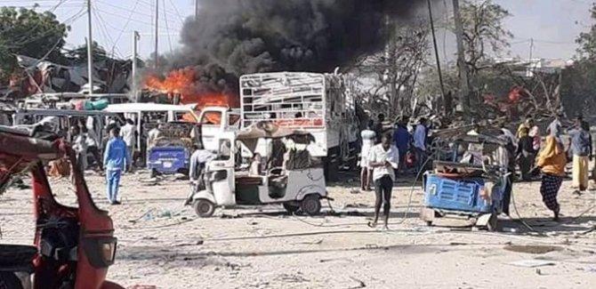 Somali'de bombalı saldırı: 30'dan fazla ölü