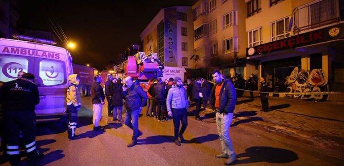 Ankara'da bir apartmanda çıkan yangında 4 kişi öldü