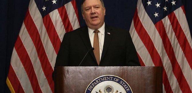 Pompeo'dan 3 ülkeye İran karşı iş birliği telefonu