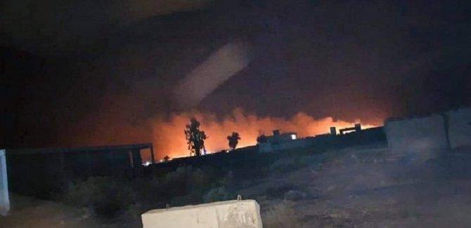Haşdi Şabi konvoyuna hava saldırısı