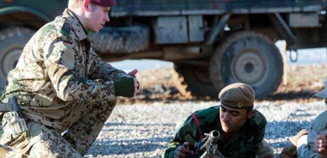 Almanya, Irak ordusuna verdiği askeri eğitimi askıya aldı