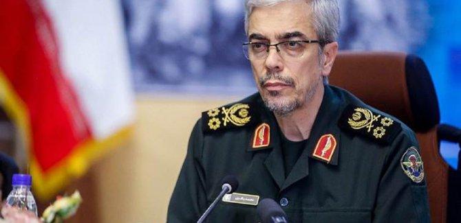 İran Genelkurmay Başkanı'ndan Trump'ın tehditine yanıt