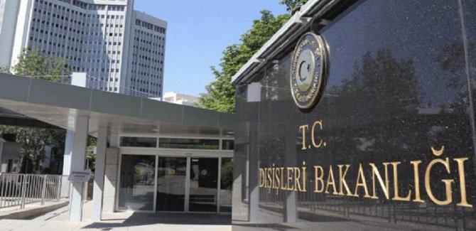 Ankara: Yapılan saldırıyı şiddetle kınıyoruz