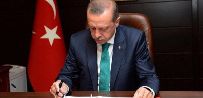 Erdoğan, çok sayıda bürokratı görevden aldı