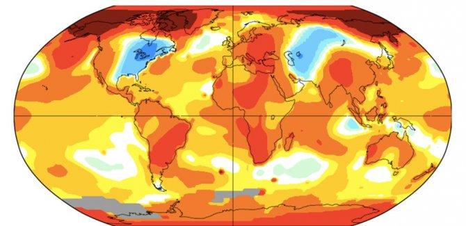 2019 en sıcak 2'nci yıl oldu