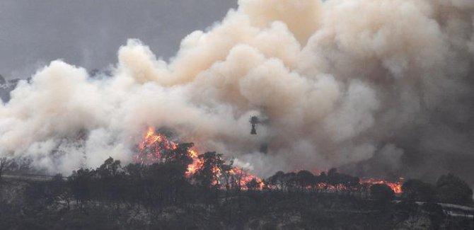 Avustralya, yangınların yayılma tehlikesi ile karşı karşıya