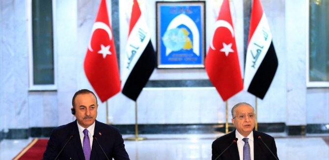 Çavuşoğlu: Irak ile zorlukları aşmak için çalışacağız