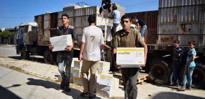 BM'nin Suriye'ye insani yardımları durabilir