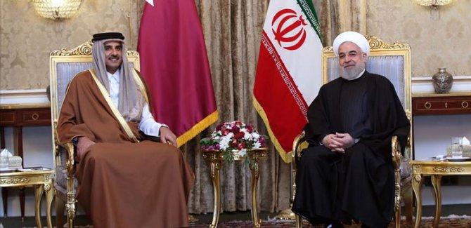 Katar Emiri'nden kritik Tahran ziyareti
