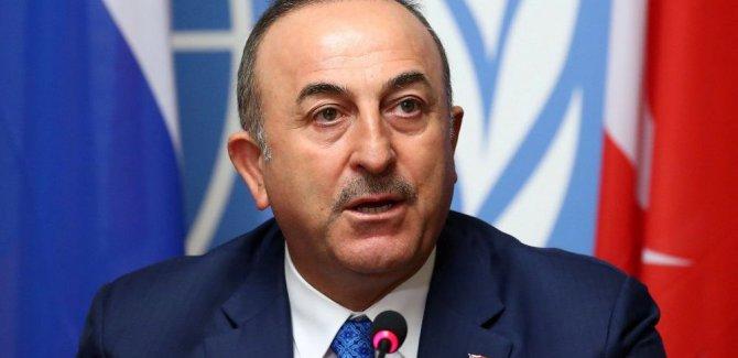 Çavuşoğlu'ndan Libya ve Hafter açıklaması