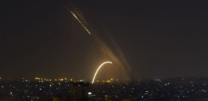 Gazze'den İsrail'e 4 füze fırlatıldı