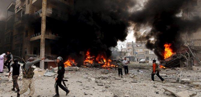İdlib'de 100'ü çocuk 313 sivil hayatını kaybetti