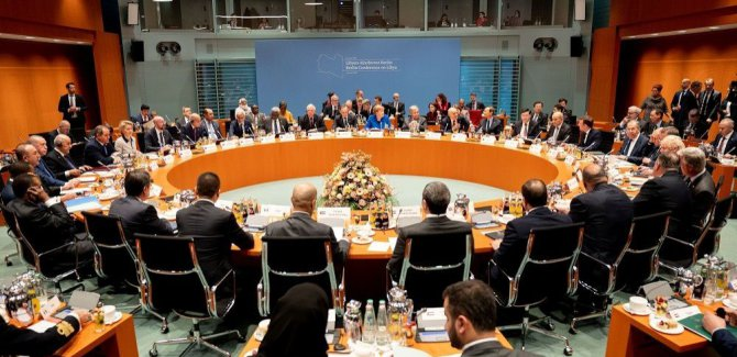 Kritik Libya Konferansı başladı