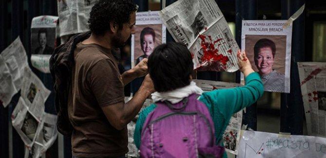 Meksika'da bir yılda 35 binden fazla cinayet işlendi