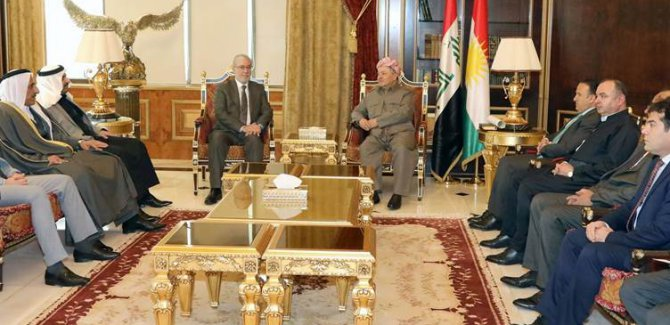 Barzani: Bizi sırtımızdan vuranlar dönmesin