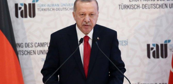 Erdoğan: Suriye'de düşülen hataya Libya'da düşülmemeli