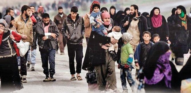 Li Idlib û rojavayê Helebê di 2 rojan de 36 hezar kes koçber bûn