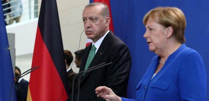Erdoğan ve Merkel'den Ortak Basın Açıklaması