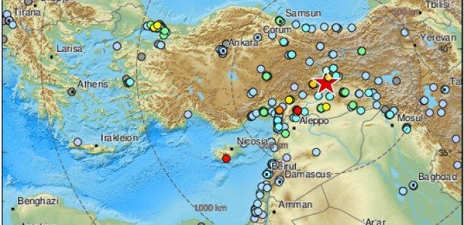 Elazığ'da 6,8 Büyüklüğünde Deprem, Can Kayıpları Var