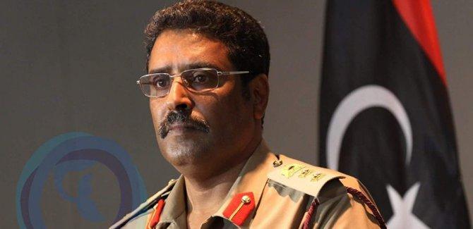 Hafter sözcüsü: Libya'da çözüm siyasi değil, silah ile olur