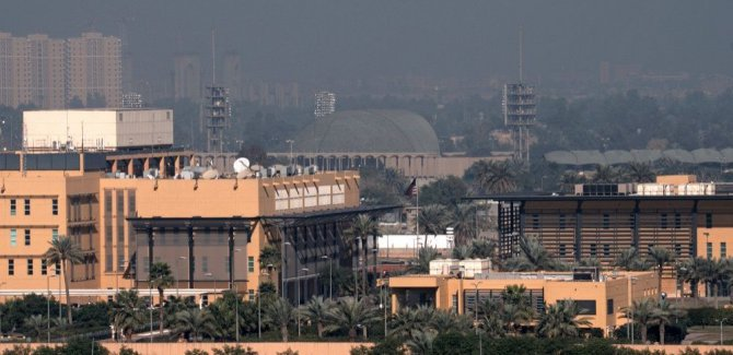ABD'nin Bağdat Büyükelçiliği'ne roket isabet etti