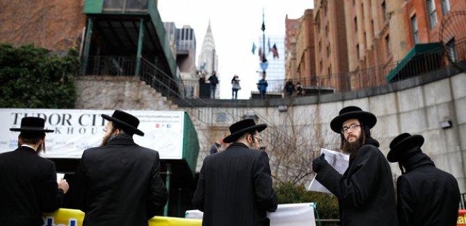 Siyonizm karşıtı Yahudilerden Trump'ın Filistin'i parçalama planına tepki