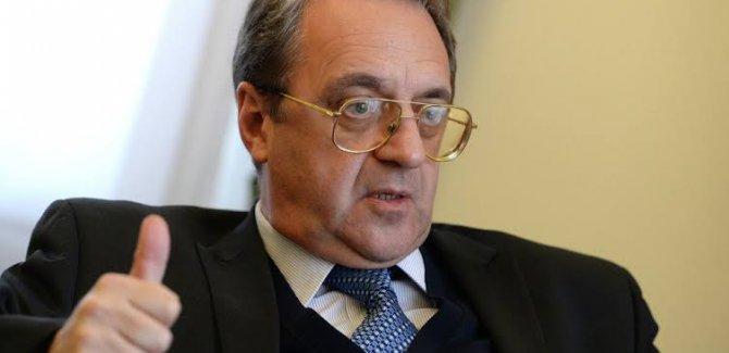 Bogdanov: Suriye'deki Kürtlerin birlik olması gerekiyor