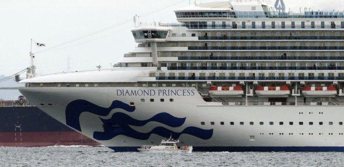 Japonya, 3711 kişiyi taşıyan gemiyi, koronavirüs şüphesiyle karantinaya aldı