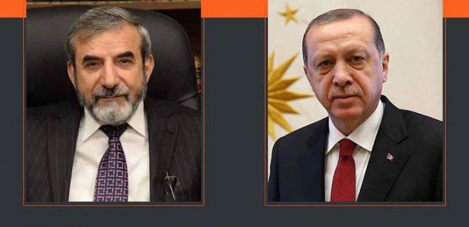 Erdoğan'dan Yekgrtu Genel Sekreteri Bahaddin'e tebrik mesajı