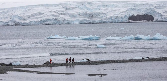 Antarktika'da en yüksek sıcaklık değeri kaydedildi