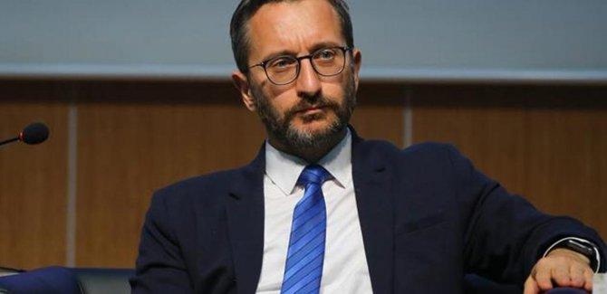 Altun: Operasyonların talimatını Erdoğan verdi