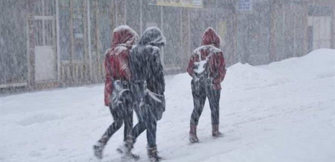 Van'da Kar Yağışı İçin Kriz Masası
