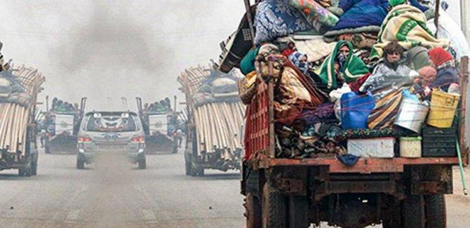 Neteweyên Yekbûyî: Li bakura rojavaya Sûriyê 900 hezar kes koçber bûne