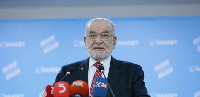 Karamollaoğlu: Tutuklama tam bir cezaya dönüştü