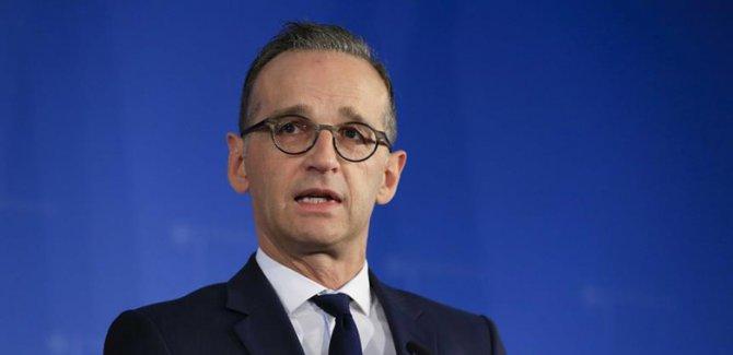 Maas: Irkçı terör Almanya'da yeniden bir tehlike
