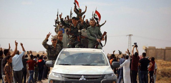 Suriye: Hava sahasını ihlal eden her uçak vurulacak