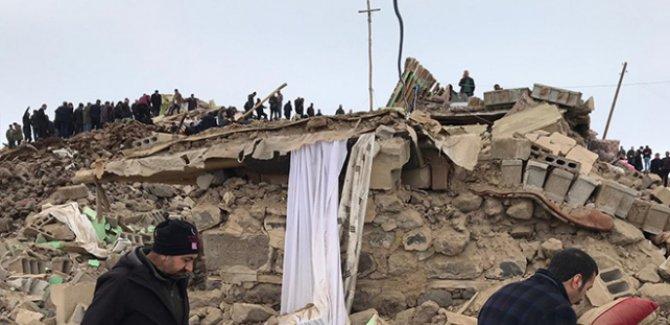 Depremde hayatını kaybedenlerin sayısı 9'a yükseldi