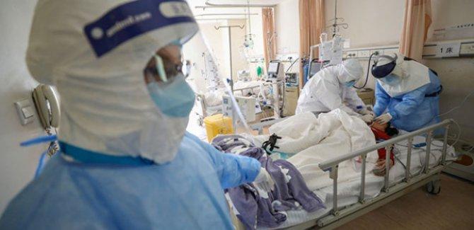 Çin'de salgında ölenlerin sayısı 2 bin 594'e yükseldi