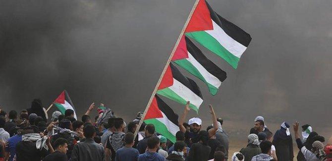Filistin: Türkiye'nin ABD'ye karşı duruşundan memnunuz