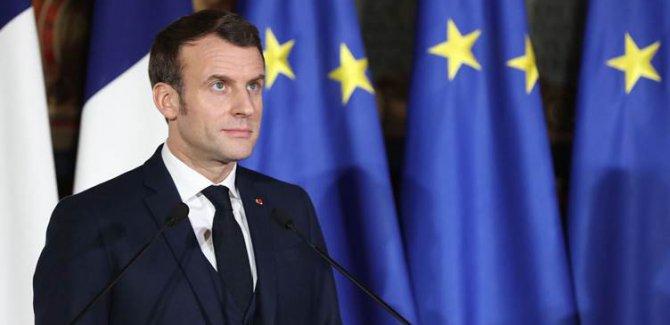 Macron: Nabe êrîşên artêşa Sûriyê bên qebûlkirin