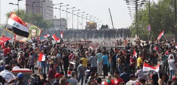 Bağdat'ta milyonluk gösteri hazırlığı