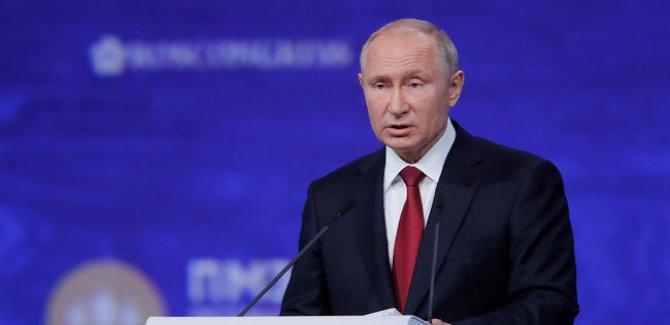 Putin: Hiçbir ülke ile savaşa girme niyetimiz yok